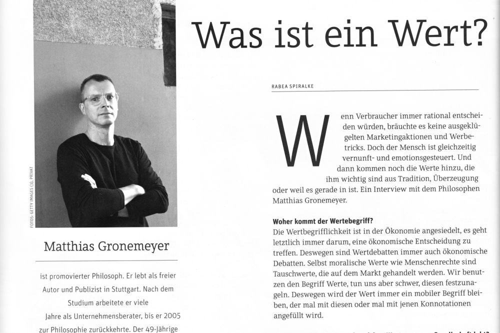 was ist ein wert interview mit dem fvw magazin matthias gronemeyer. Black Bedroom Furniture Sets. Home Design Ideas
